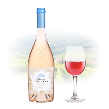Picture of Chateau d'Esclans Rose French Pink Wine 750 ml, CHATEAUD'ESCLANSROSE