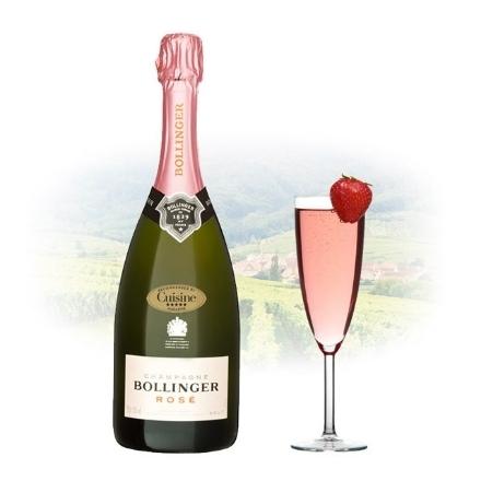 Picture of Bollinger Brut Rose Champagne 750 ml, BOLLINGERROSE
