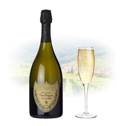 Picture of Dom Perignon Vintage 2008 (naked) Champagne 750 ml, DOMPERIGNON2008