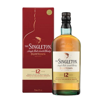 Picture of The Singleton Dufftown 12 Year Old Single Malt Scotch Whisky 700 ml, THESINGLETON12