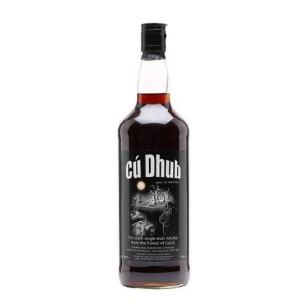 Picture of Cu Dhub Black Whisky Single Malt Scotch Whisky 700 ml, CUDHUBBLACK