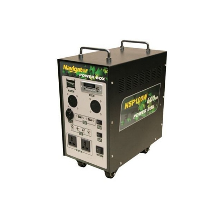Picture of Navigator Solar Power Box, NVNSP100W
