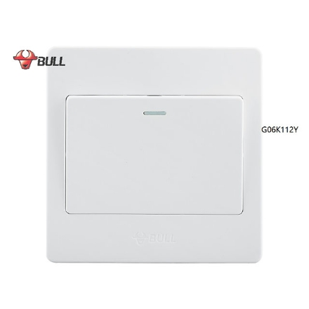 Picture of Bull 1 Gang 3 Way Switch Set (White), G06K112Y