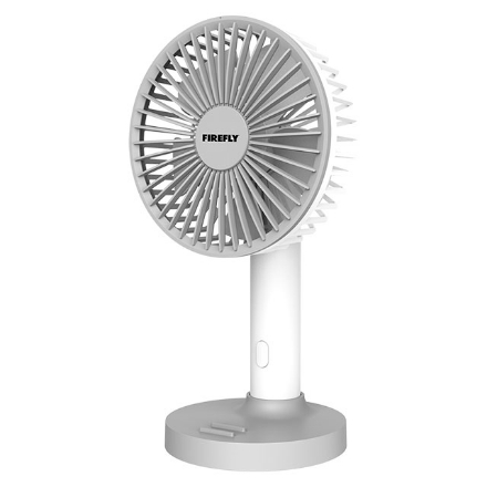 Picture of Firefly Portable Handy Stand Fan with Mobile Phone Holder, FEL810