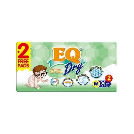 Picture of EQ Diaper Dry Medium 36+2's, EQ028AY