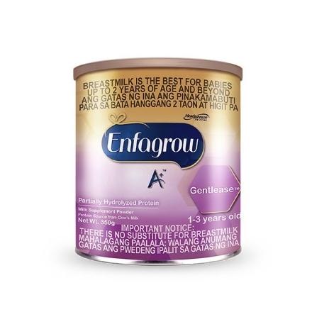Picture of Enfagrow A+ Gentlease Milk Supplement Powder 1-3 for Years Old 350g, ENFAGROWGENTLEASE