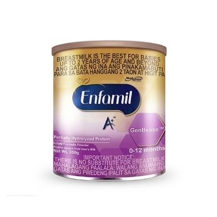 Picture of Enfamil A+ Gentlease Infant Formula Powder for 0-12 Months 350g, ENFAGROWGENTLEASE0-12