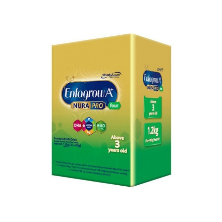 Picture of Enfagrow A+ Four NuraPro Powdered Milk Drink for 3+ Years Old 1.2kg, ENFAGROWNURAPRO4