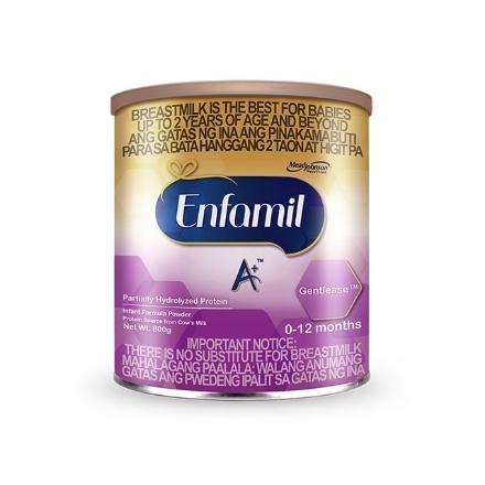Picture of Enfamil A+ Gentlease Infant Formula Powder for 0-12 Months 800g, ENFAMILGENTLEASE800