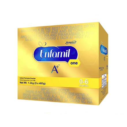 Picture of Enfamil A+ One Infant Formula Powder for 0-6 Months 1.2kg, ENFAMILONE1.2