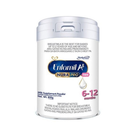 Picture of Enfamil AII Nurapro Two Milk Supplement Powder for 6-12 months 850g, ENFAMILALL