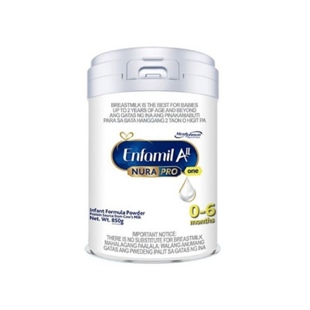 Picture of Enfamil AII Nurapro One Infant Formula Powder for 0-6 months 850g, ENFAMILLALL0-6