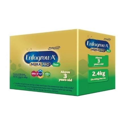 Picture of Enfagrow A+ Four NuraPro Powdered Milk Drink for 3+ Years Old 2.4kg, ENFAGROWFOUR2.4