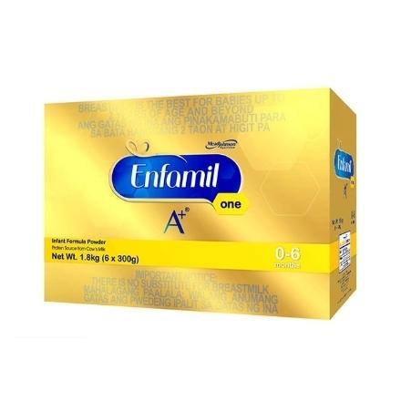 Picture of Enfamil A+ One Infant Formula Powder for 0-6 Months 1.8kg, ENFAMILONE1.8