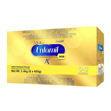 Picture of Enfamil A+ One Infant Formula Powder for 0-6 Months 2.4kg, ENFAMILONE2.4