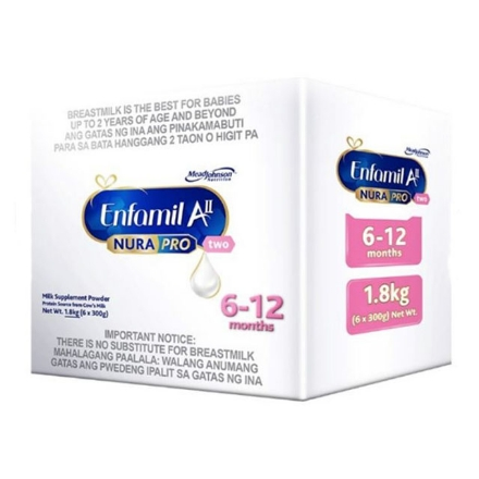 Picture of Enfamil AII Nurapro Two Milk Supplement Powder for 6-12 months 1.8kg, ENFAMILALL1.8