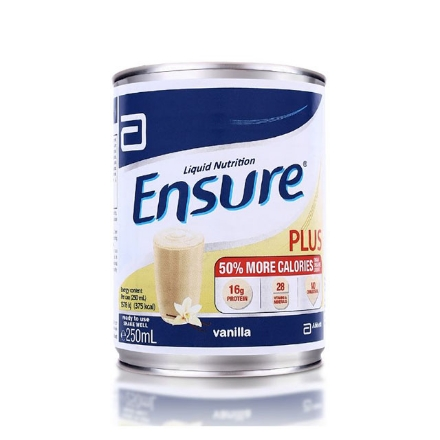Picture of Ensure Plus RTU 250 ml (Stackable), ENSUREPLUSSTACKABLE