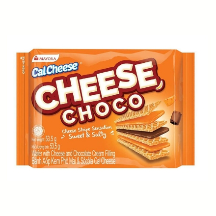 Picture of Cal Cheese Wafer Cheese Choco 53.5g, CAL52
