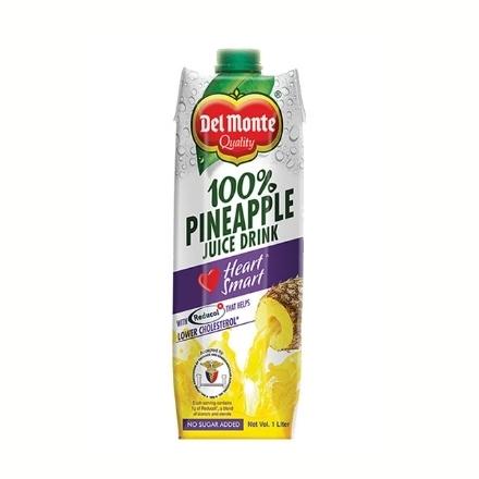 Picture of Del Monte Juice Pineapple Heart Smart Tetra 1L, DEL155