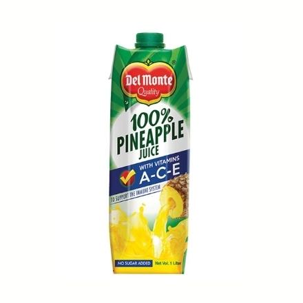 Picture of Del Monte Juice Pineapple with Vitamin A-C-E 1L, DEL153