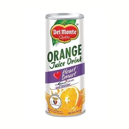 Picture of Del Monte Juice Orange Heart Smart 240 ml, DEL197