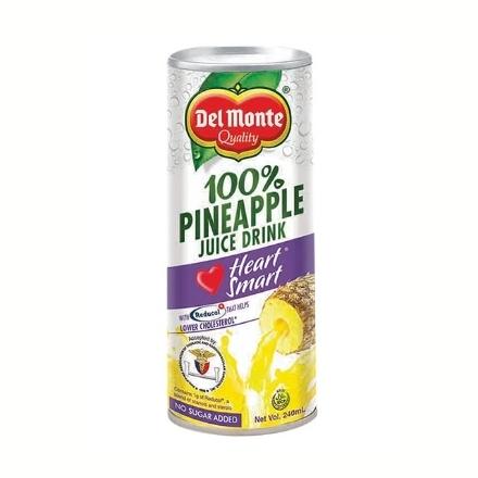 Picture of Del Monte Juice Pineapple Heart Smart 240 ml, DEL284
