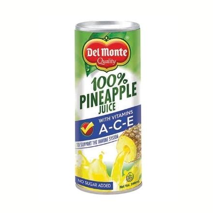 Picture of Del Monte Juice Pineapple with Vitamin A-C-E 240 ml, DEL215