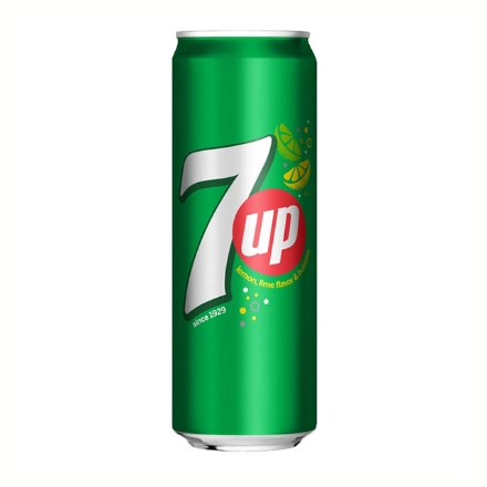 Picture of 7-Up Regular In Can (Sleek) 330 ml, 7UP09