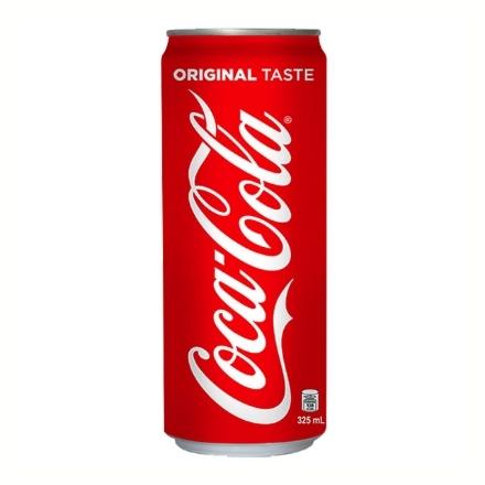 Picture of Coca Cola Regular Can Slim 325 ml, COK16