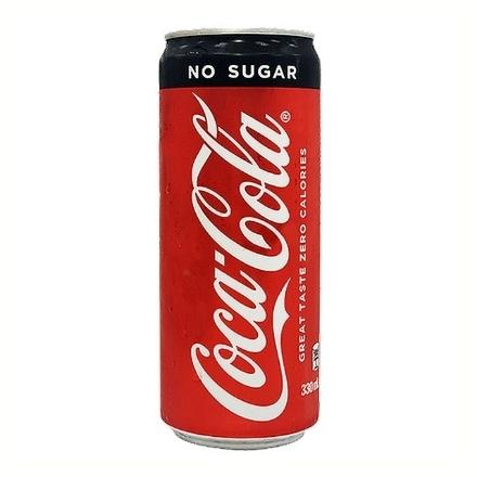 Picture of Coca Cola Zero In Can (Slim) 330 ml, COK18