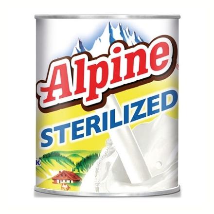 图片 Alpine Sterilized Milk Can 155 ml, ALP01