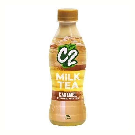 Picture of C2 Milk Tea 270 ml (Caramel, Chocolate, Wintermelon), C2C20