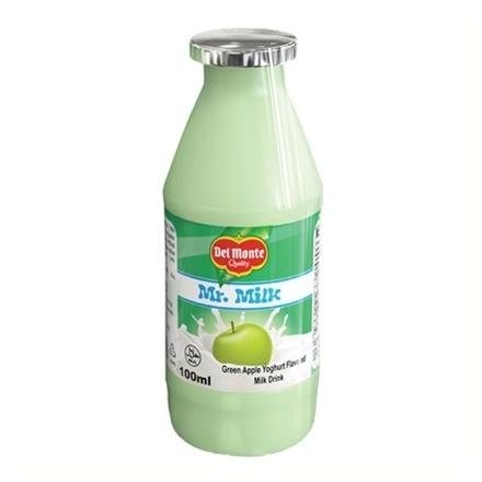 Picture of Del Monte Mr. Milk Yoghurt 100 ml 6 pcs (Green Apple, Plain, Strawberry), DEL30