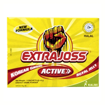 Picture of Extra Joss Active Energy Drink 4g 6 pcs, EXT03B