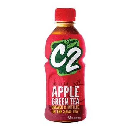 Picture of C2 Cool and Clean Green Tea 355 ml (Apple, Lemon, Green Tea), C2C03