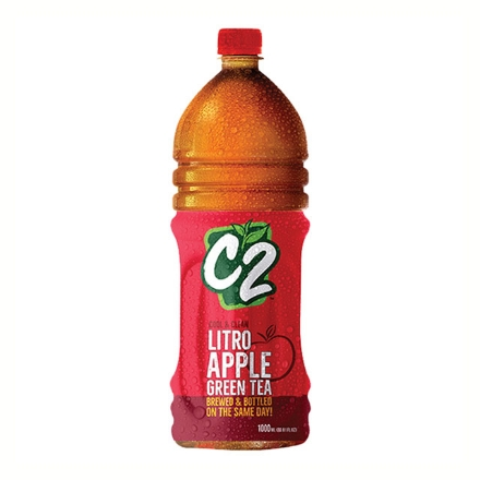 Picture of C2 Cool and Clean Green Tea  Apple 1L, C2C21