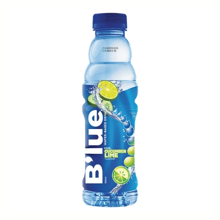 Picture of B'lue Drink 500 ml (Cool Cucumber Lime, Enlivening Orange, Inspiring Calamansi, Peppy Lychee, Perky Pear), BLU21