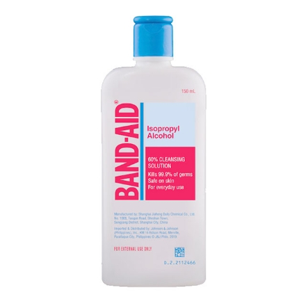 Picture of Band-Aid Isopropyl Alcohol 60% (150 ml, 250 ml, 500 ml), BAN10