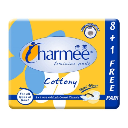 Picture of Charmee Sanitary Napkin All-flow 8 + 1, CHA48A