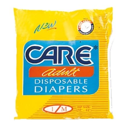 Picture of Care Adult Diaper (Medium) 1 pad, CAR99