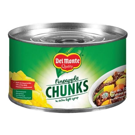 Picture of Del Monte Pineapple Chunks (227g, 432g, 560g, 822g), DEL106