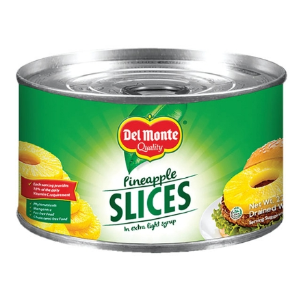Picture of Del Monte Pineapple Slices (227g, 432g, 822g), DEL105