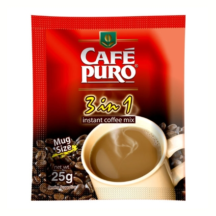 Picture of Cafe Puro Coffee 3-in-1 25g 10 pcs, CAF01