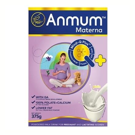 Picture of Anmum Milk Materna Plain Box 375g, ANM02B