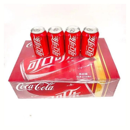 Picture of Coca cola Original Taste 1 can, 24 cans (330ml)