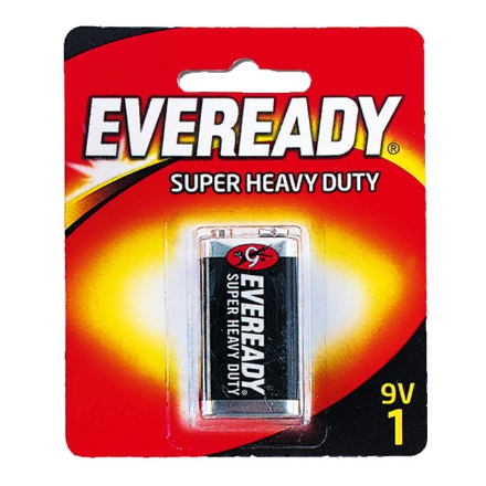 Picture of Eveready Battery Black 9V, EVE20B