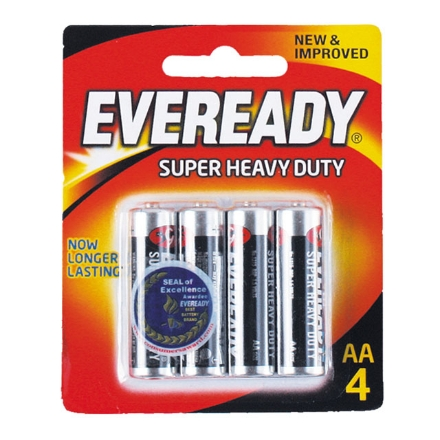 Picture of Eveready Battery Black AA4, EVE22B