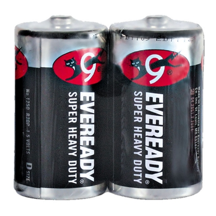 Picture of Eveready Battery Black D, EVE19B
