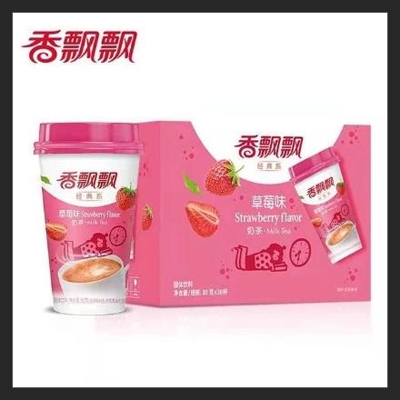 Picture of Xiangpiaopiao Milk Tea (Strawberry) 80g