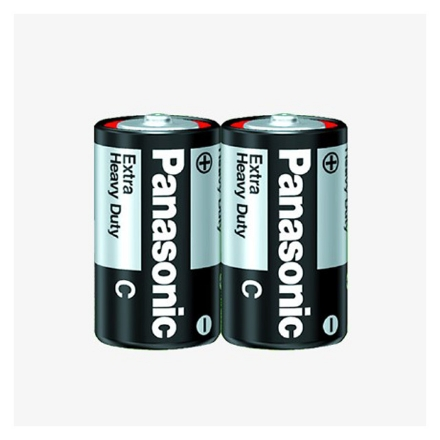 Picture of Panasonic R14NPT Extra Heavy Duty Manganese Batteries, R14NPT